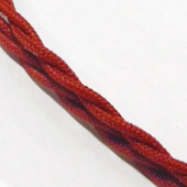 Cherry braided cable